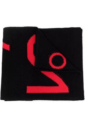 Nº21 Kids Intarsia logo scarf