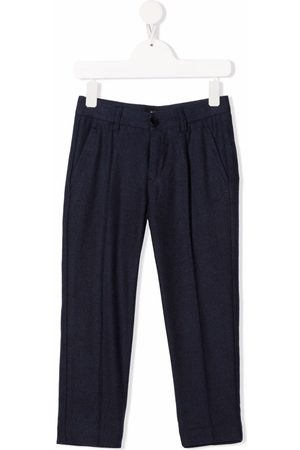 DONDUP KIDS Girls Trousers - Pressed crease chino trousers