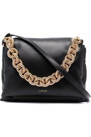 LANVIN Chain-strap leather tote
