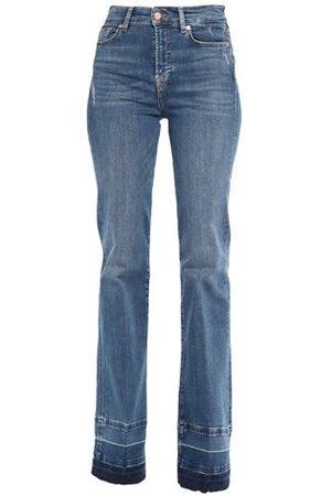 7 for all Mankind Women Trousers - BOTTOMWEAR - Denim trousers