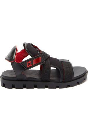 Christian Louboutin Women Sandals - Velcrissimo Neoprene Sandals - Womens