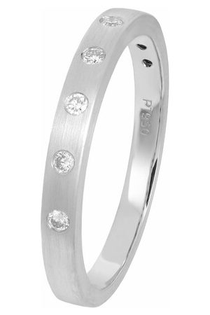 Volare Rings - Ring 5 Brill ca. 0,10 - - Rings for ladies