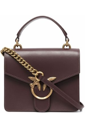 Pinko Women Shopper & Tote Bags - Love plaque mini bag