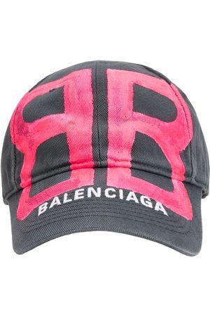 Balenciaga Men Hats - Bb Sprayed Cotton Cap