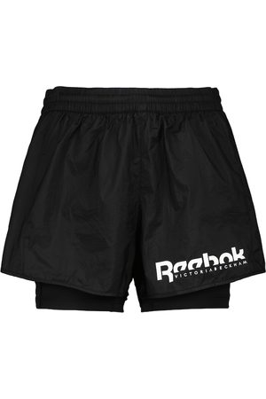 Reebok x Victoria Beckham Layered performance shorts