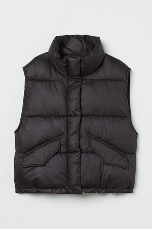 H&M Stand-up-collar puffer gilet