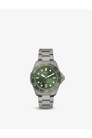 Tag Heuer WBP208B.BF0631 Aquaracer titanium automatic watch