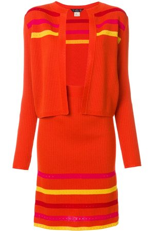 John Galliano Women Pencil Skirts - Striped knitted skirt suit