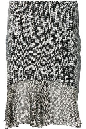John Galliano Women Skirts - Tweed effect skirt