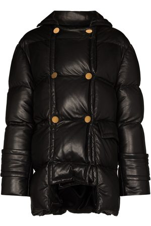 Tom Ford Leather puffer jacket