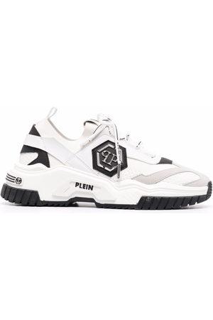Philipp Plein Predator panelled low-top sneakers