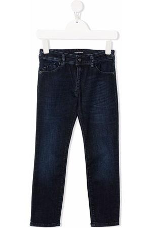 Emporio Armani Girls Slim - Slim-fit denim jeans