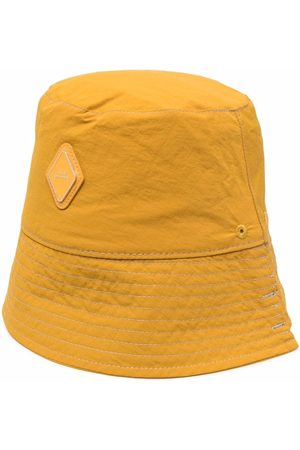 A-cold-wall* Men Hats - Logo-patch bucket hat