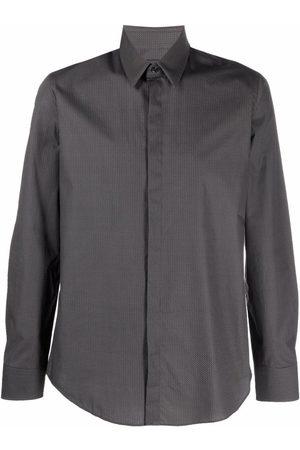 Fendi Men Long sleeves - Long-sleeve button-up shirt