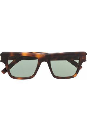 Saint Laurent Men Sunglasses - Angular square-frame sunglasses