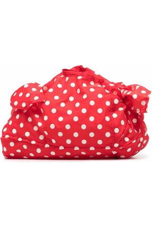 Comme des Garçons Women Shopper & Tote Bags - Polka dot print tote bag