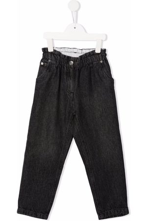 BONPOINT Girls Skinny Trousers - Elasticated slim-cut trousers