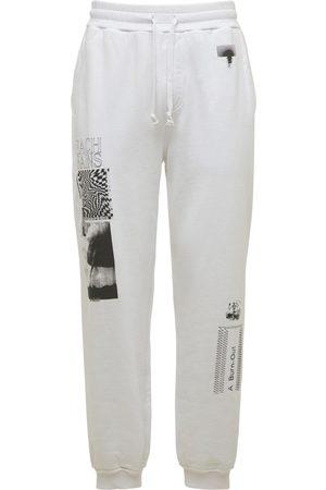 BEACH BRAINS Men Trousers - Cluster Cotton Sweatpants