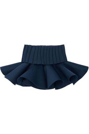 NIKOLIA Pleated Neoprene Skirt