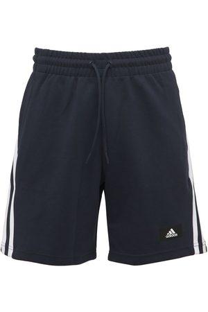 ADIDAS PERFORMANCE Future Icon 3s Cotton Blend Sweat Shorts