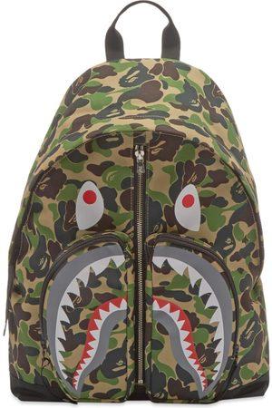 AAPE BY A BATHING APE Men Rucksacks - ABC Camo Shark Daypack