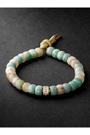 CAROLINA BUCCI Men Bracelets - Forte Beads Pink Gold Multi-Stone Bracelet