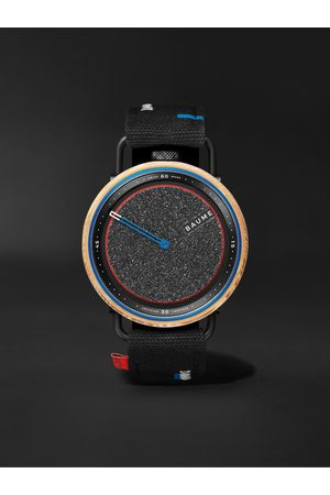 Baume Men Watches - Skate Automatic 42.4mm Aluminium, Wood and Webbing Watch, Ref. No. M0A10653