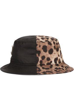 Dolce & Gabbana Men Hats - Logo Plate Bucket Hat