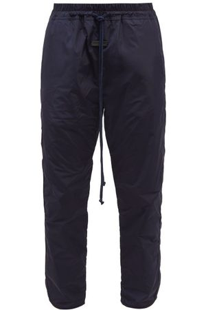 Fear Of God Men Trousers - Shell Track Pants - Mens - Navy