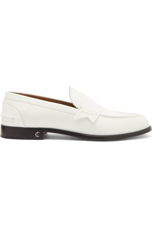 Christian Louboutin No Penny Leather Loafers - Mens