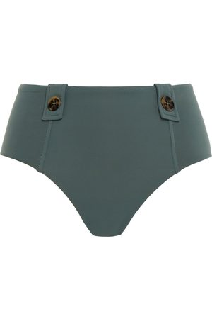 SEAFOLLY Woman Button-detailed High-rise Bikini Briefs Size 10