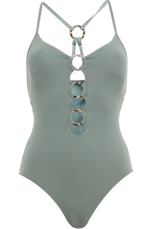 SEAFOLLY Women Swimsuits - Woman Ring-embellished Swimsuit Size 10