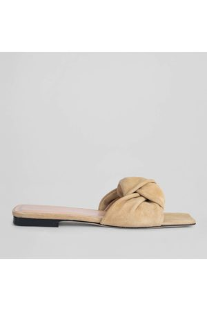 By Far Women's Lima Suede Mules