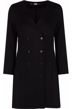 Karl Lagerfeld Women Dresses - Double-breasted V-neck dress