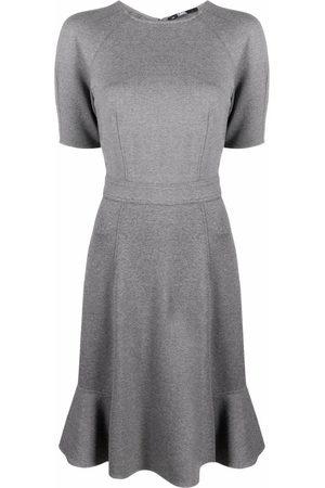 Karl Lagerfeld Women Casual Dresses - Peplum-hem jersey dress