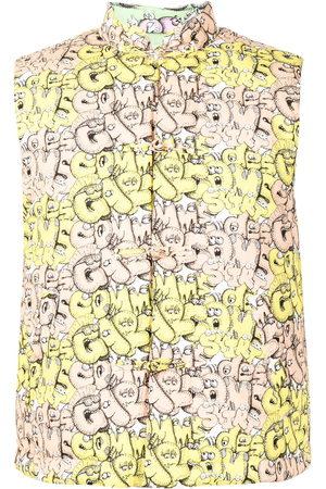 Comme des Garçons Logo-print padded gilet