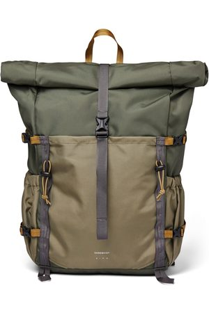 Sandqvist Forest Hike Bag - Multi Trekk Green/Leaf Green