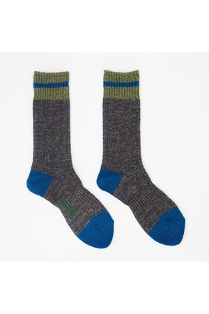 ANONYMOUS ISM GoHemp Cable Line Crew Sock - Charcoal