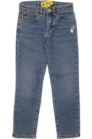 OFF-WHITE KIDS Women Stretch - Stretch Cotton Jeans