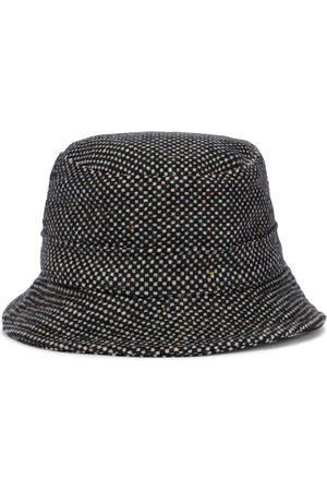 GABRIELA HEARST Checked cashmere bucket hat