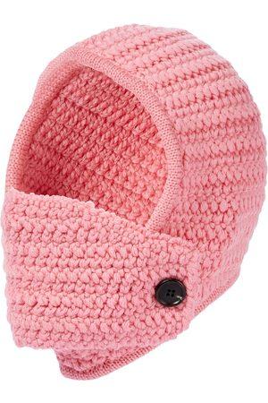 Miu Miu Crochet virgin wool hat