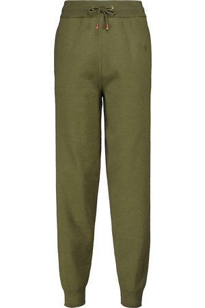 Burberry Wool and cashmere-blend knit pants