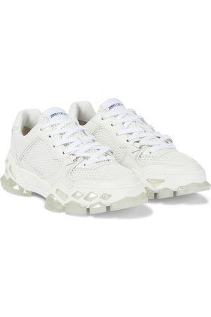 Jimmy Choo Diamond x Trainer nylon sneakers