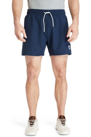 Timberland Solid-colour swim shorts for men in navy navy, size 3xl