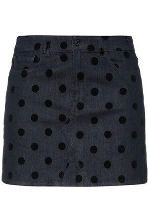 7 FOR ALL MANKIND Women Denim Skirts - BOTTOMWEAR - Denim skirts