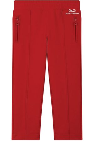 Dolce & Gabbana Formal Trousers - Kids Tailored Track Pants (8-14 Years)