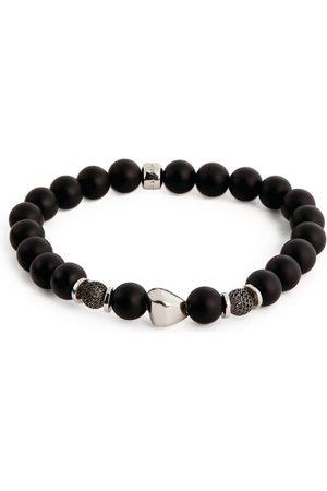 Tateossian Men Bracelets - Sterling Silver Beaded Bracelet