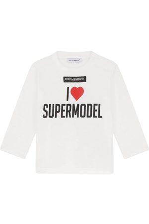 Dolce & Gabbana Kids I Love Supermodel T-Shirt (3-30 Months)