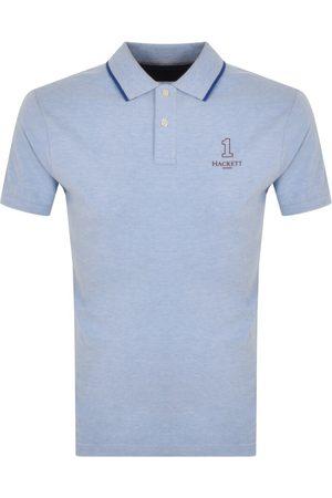 Hackett Number Logo Polo T Shirt