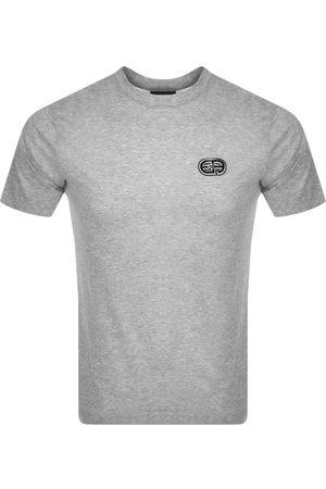 Armani Emporio Crew Neck Logo T Shirt